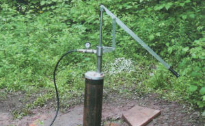 Well Lever Arm Pump